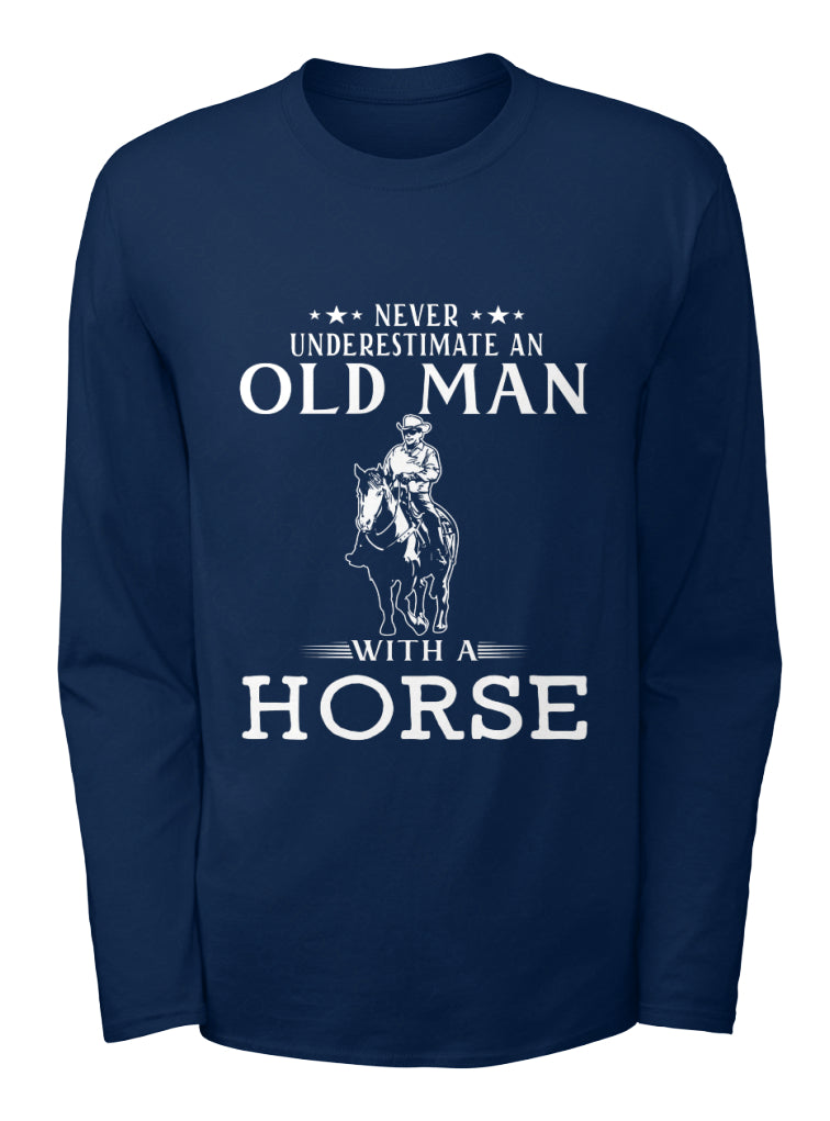 OLD MAN WITH A HORSE
