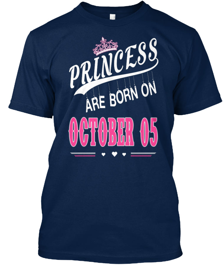 Princess are born on October 05