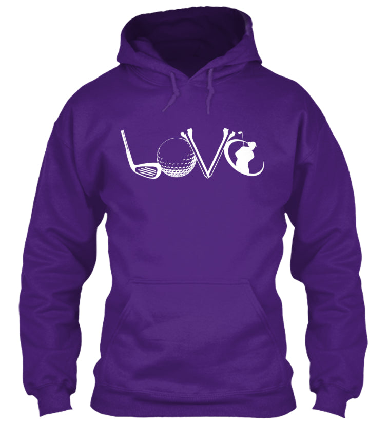 Golf LOVE Hoodie LIMITED EDITION