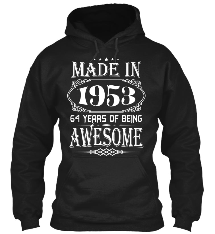MADE IN 1953 - 64th BIRTHDAY