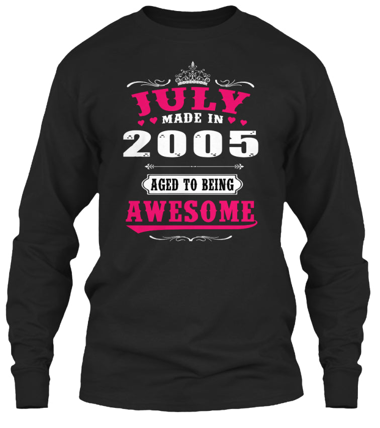 2005 July age to being awesome