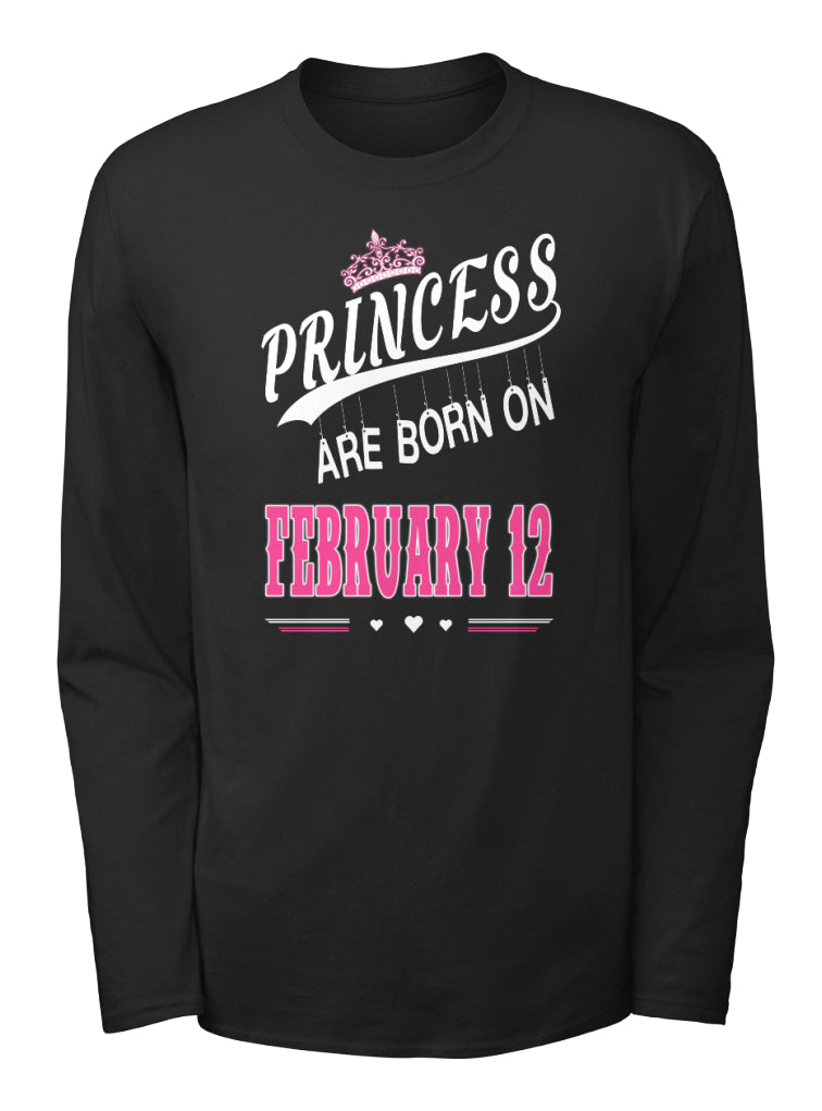 Princess are born on February 12
