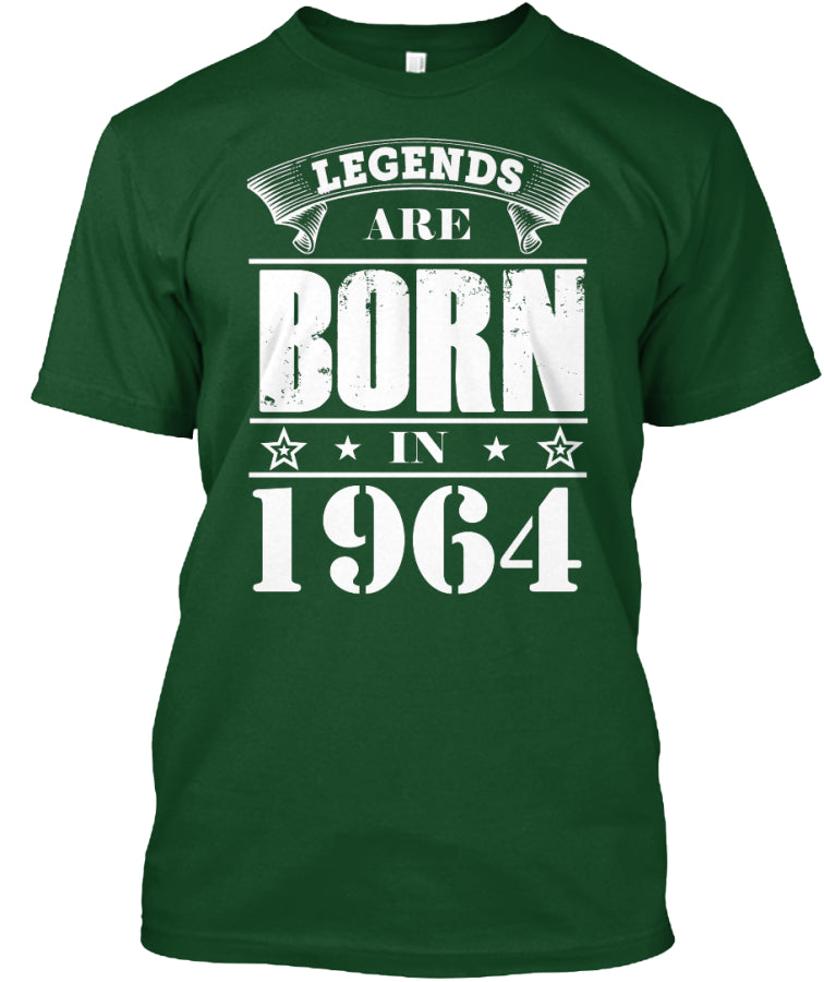 LEGENDS ARE BORN IN 1964