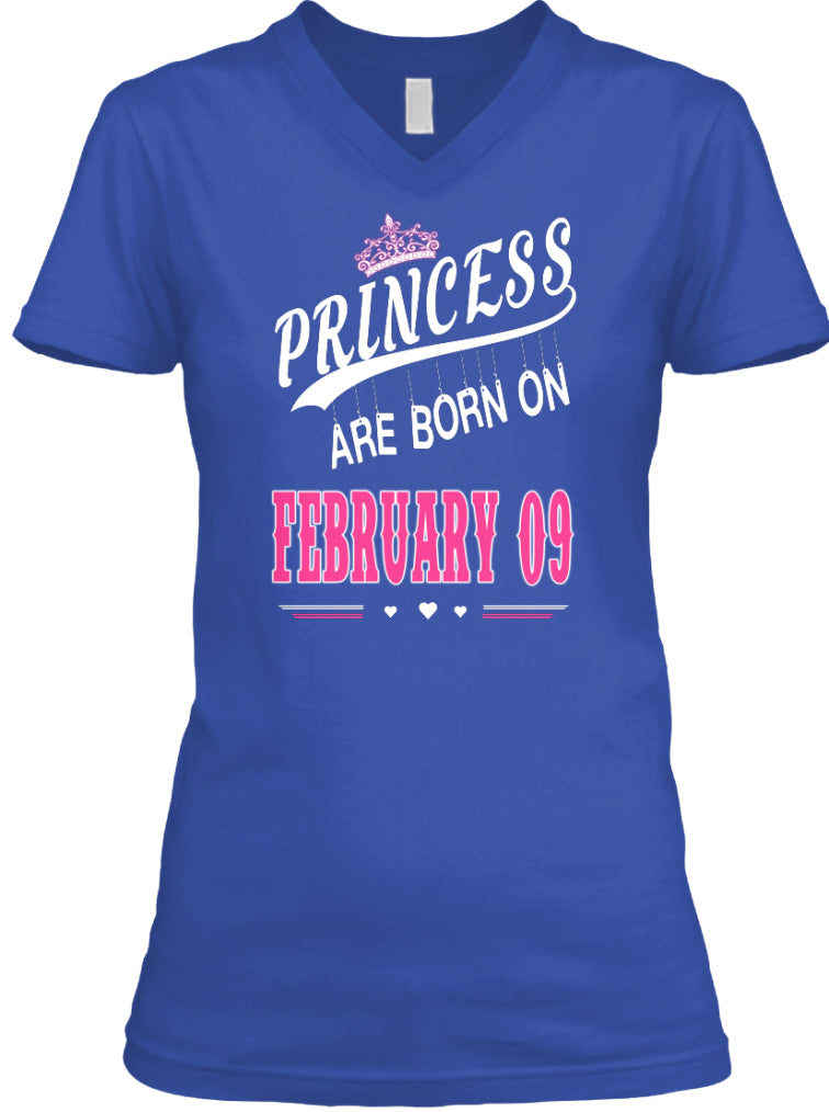 Princess are born on February 09