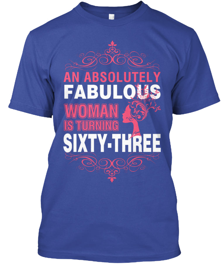AN ABSOLUTELY FABULOUS - 63