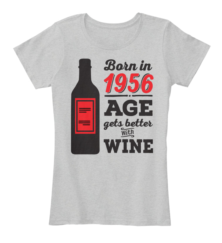Born In 1956 Birthday Gift T-Shirts