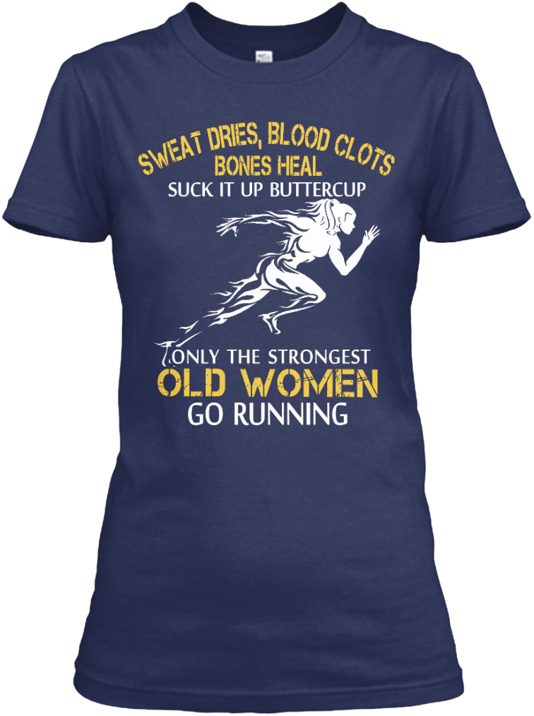 Limited - Strong Running Old Woman