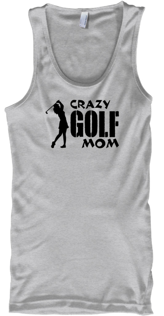 Crazy golf mom tee