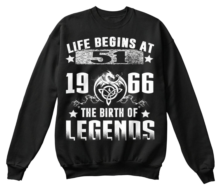 Life begins at 51-1966-shirt