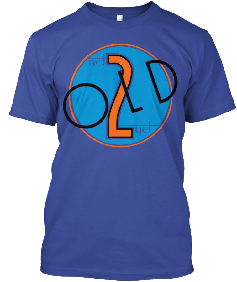 not 2 old yet_vec_3 us T-Shirts