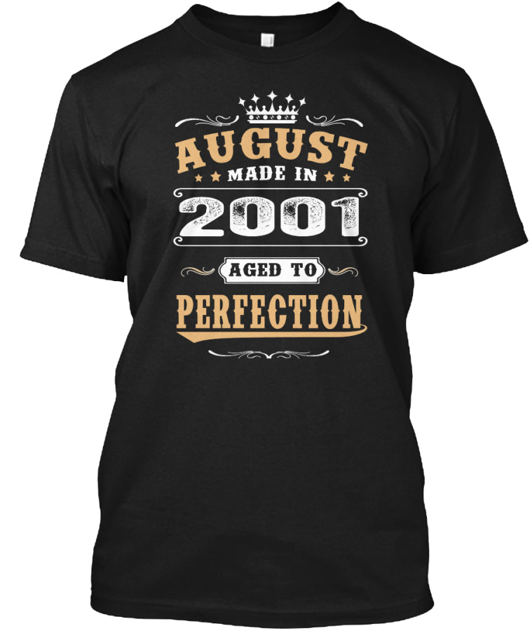 2001 August Aged to Perfection