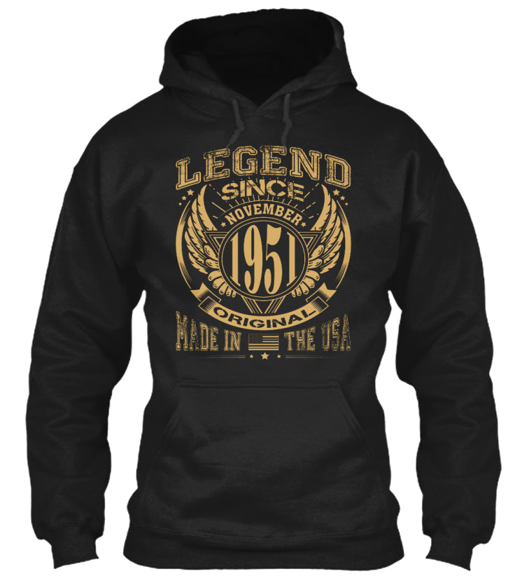LEGEND SINCE NOVEMBER 1951 MADE IN USA