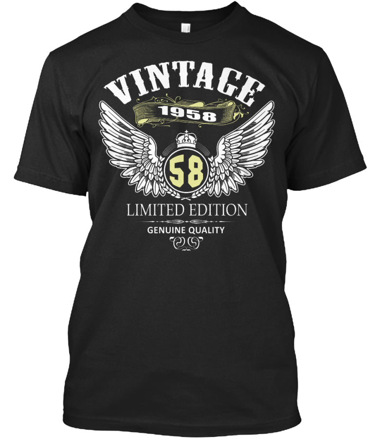 VINTAGE Hunting 1958 for 58 years