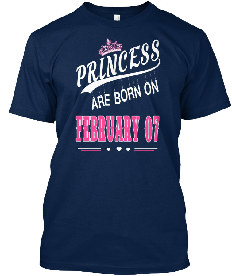 Princess are born on February 07