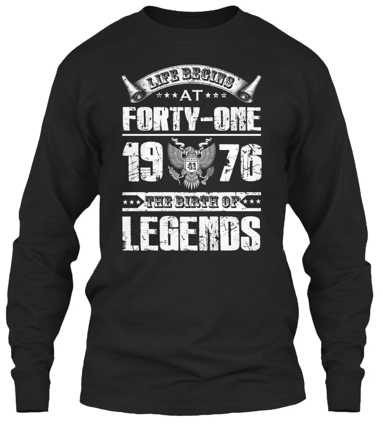 the birth of legends at forty-one 1976