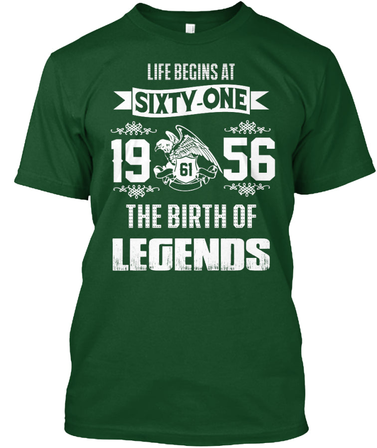 Legends - Life begins at SIXTY-ONE
