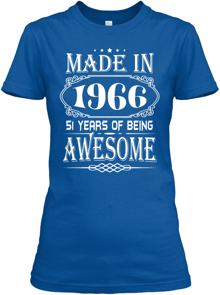 MADE IN 1966 - 51th BIRTHDAY