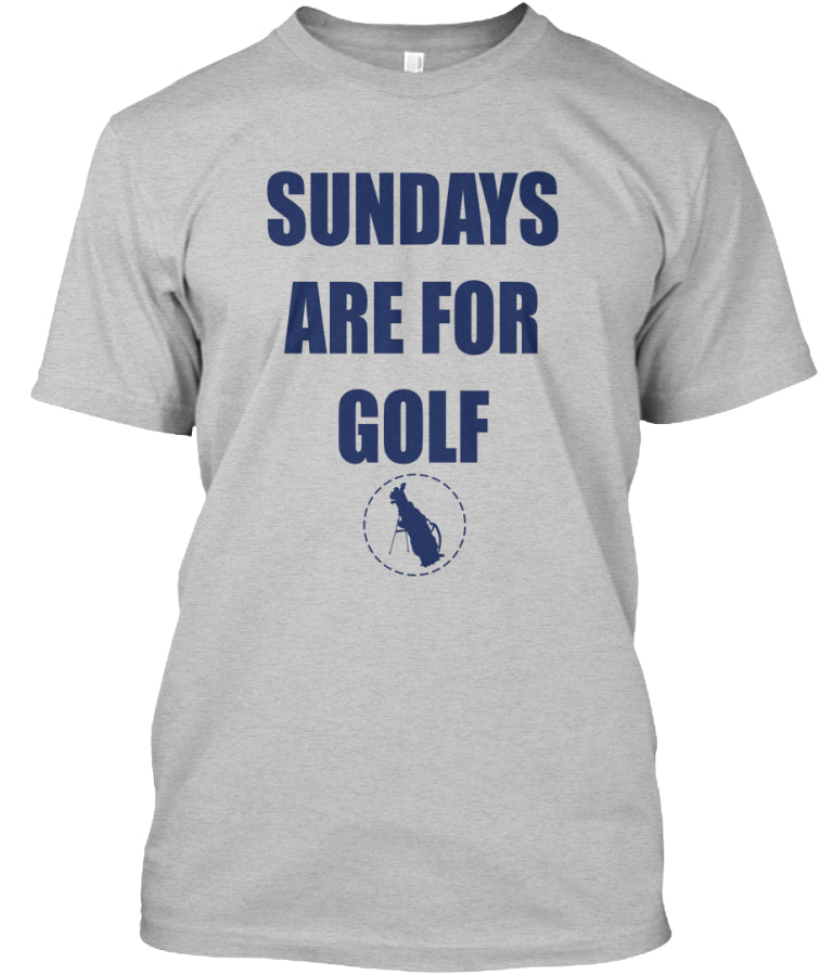 Sundays are For Golf