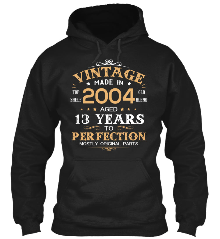 Vintage Made In 2004 Aged 13 Years Tee