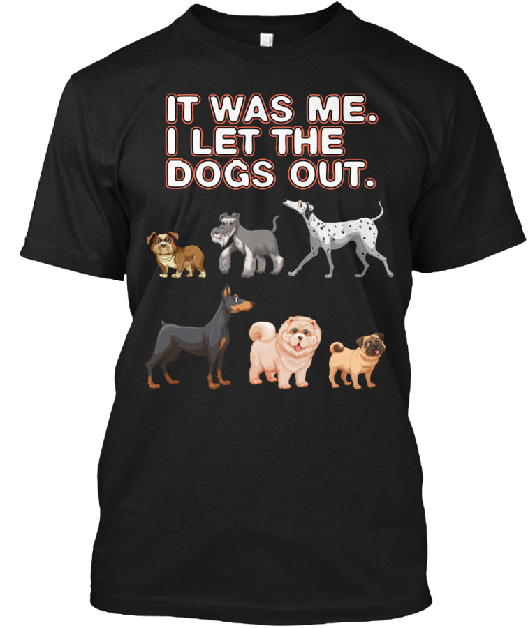 Limited Edition - Funny Dogs Tshirt