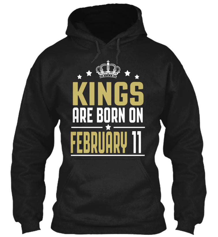 Kings Are Born On February 11 Birthday
