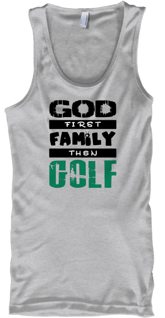 God first family then golf