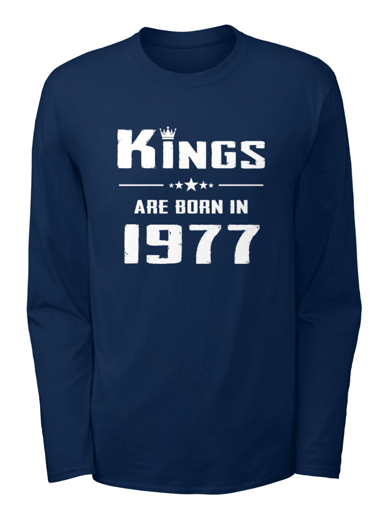 KINGS ARE BORN IN 1977