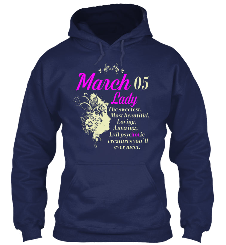 March 05 lady My Birthday