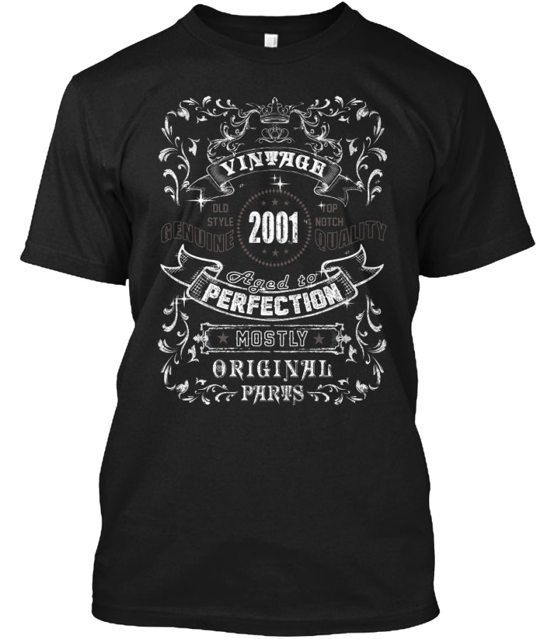 Vintage 2001 Age to Perfection