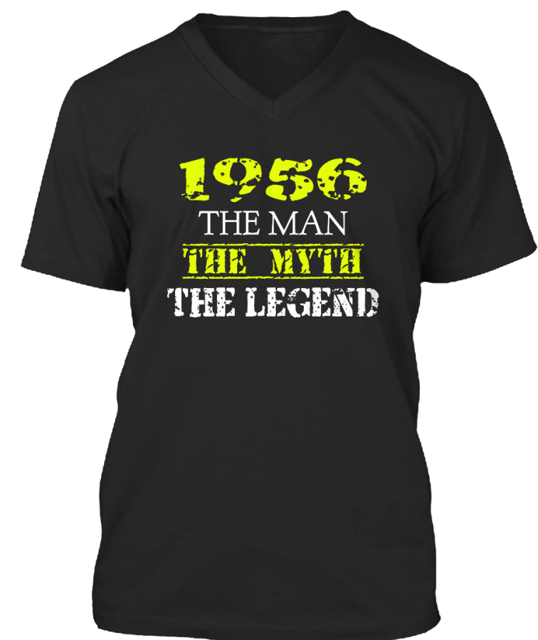 Born In 1956 - The Man The Legend - Birthday Gift T-Shirts