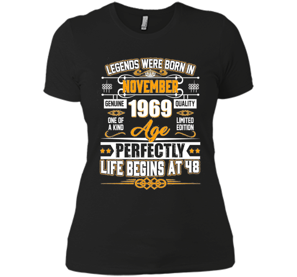Legends Were Born In November 1969 Shirt 48th Birthday Gift t-shirt