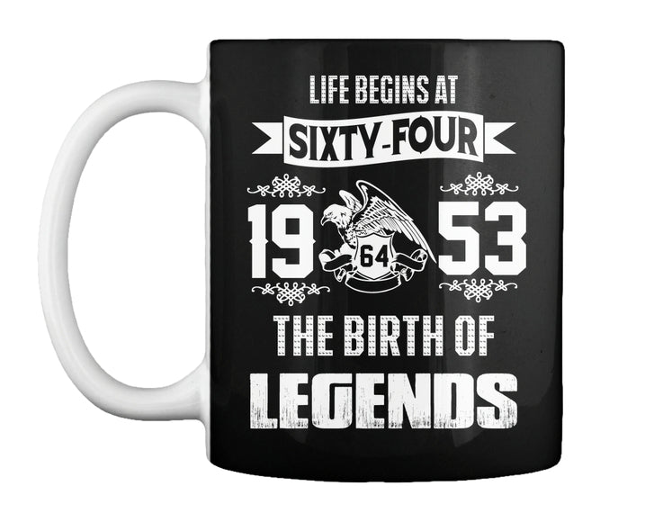 Legends - Life begins at SIXTY-FOUR