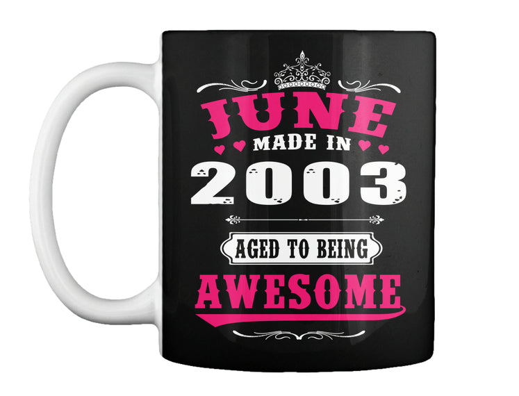 2003 June age to being awesome