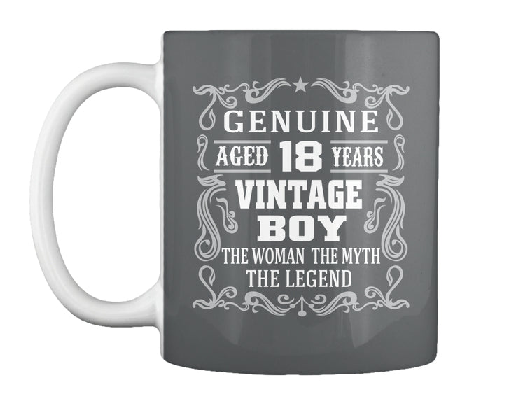 GENUINE AGED 18 YEARS - BIRTH GIFTS MUG