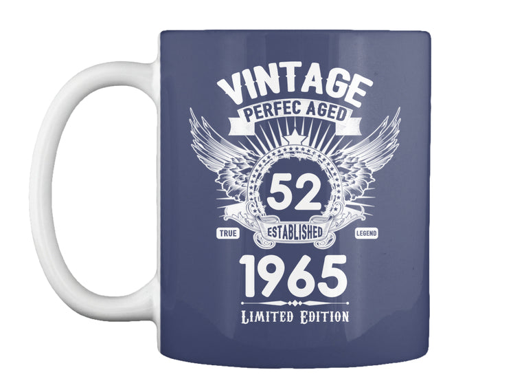 made in 1965 52 birthday limited edition