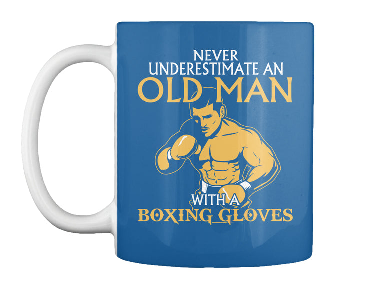 NEVER UNDERESTIMATE AN OLD MAN...