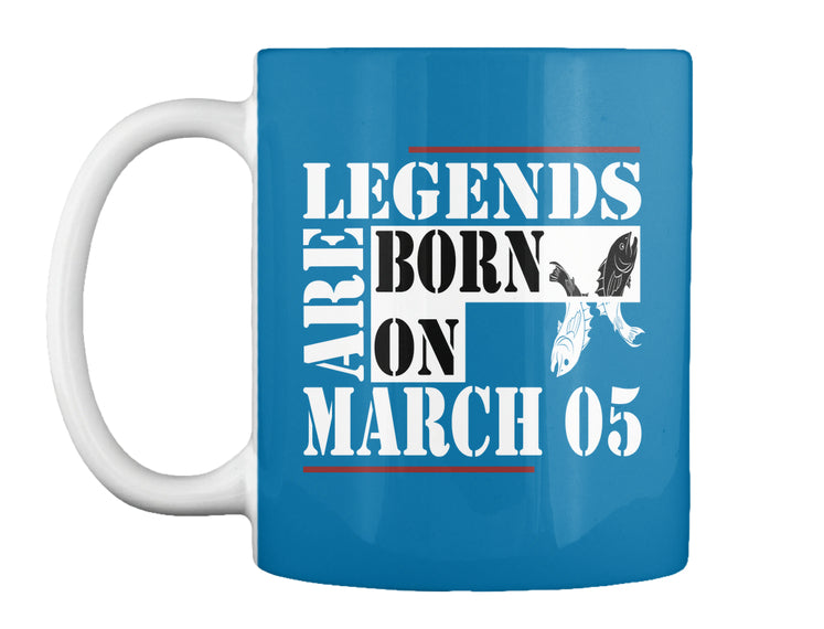 Legends are born on March 05