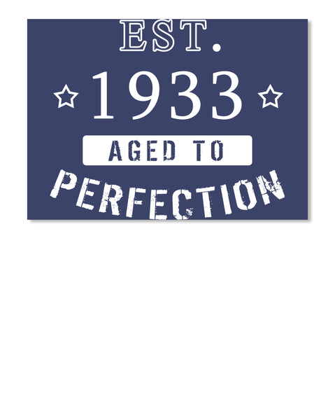 Born in 1933 Shirt - Birthday Year 1933
