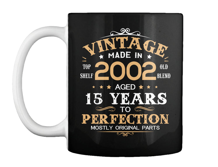 Vintage Made In 2002 Aged 15 Years Tee