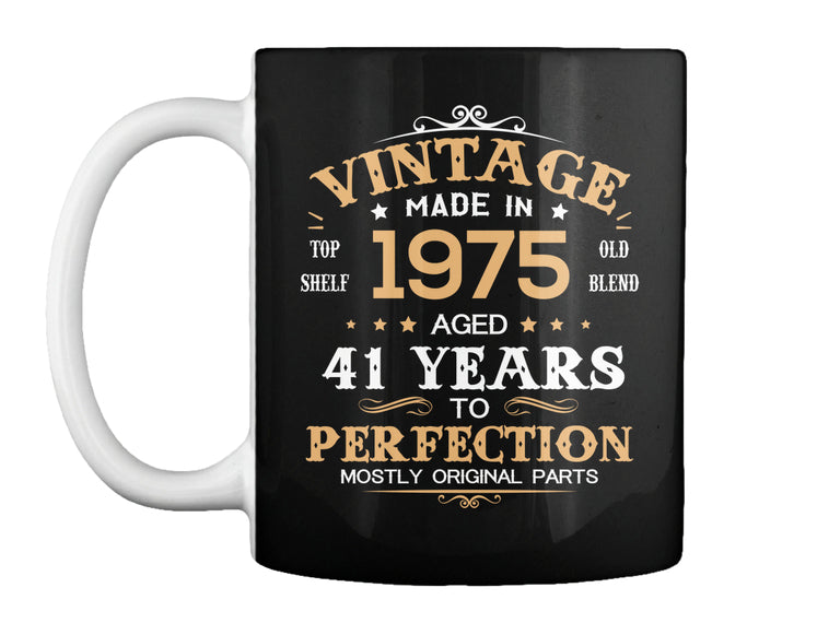 Vintage Made In 1975 Aged 41 Years Tee