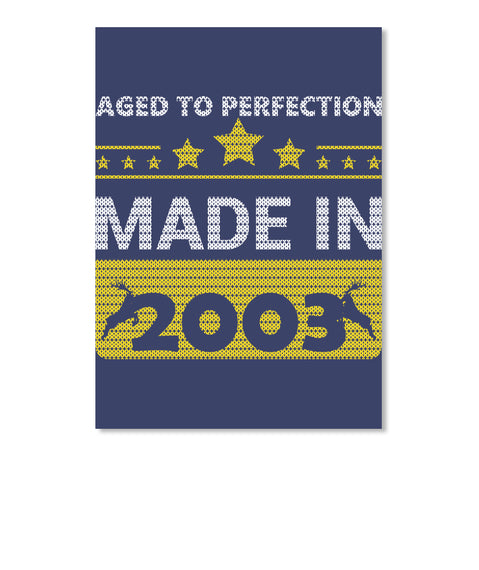 Aged To Perfection Born In 2003 Birthday Gift
