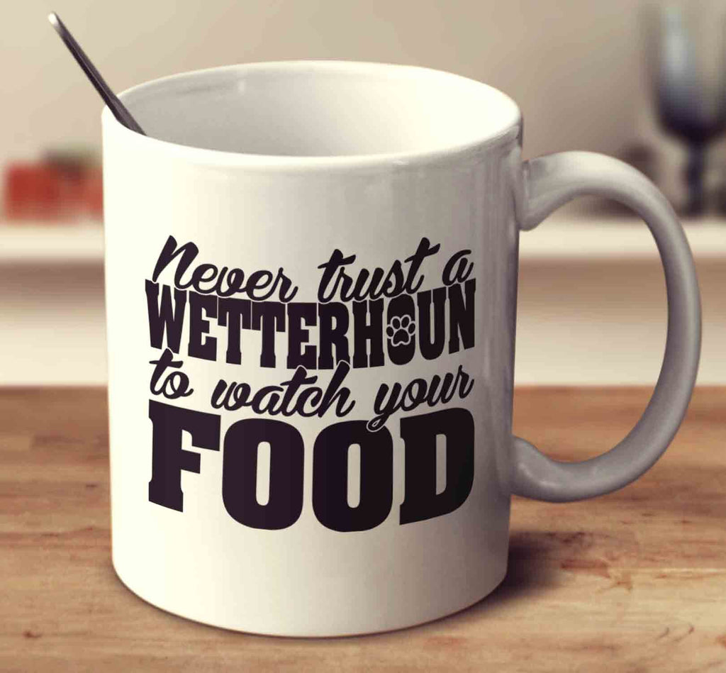 Never Trust A Wetterhoun To Watch Your Food