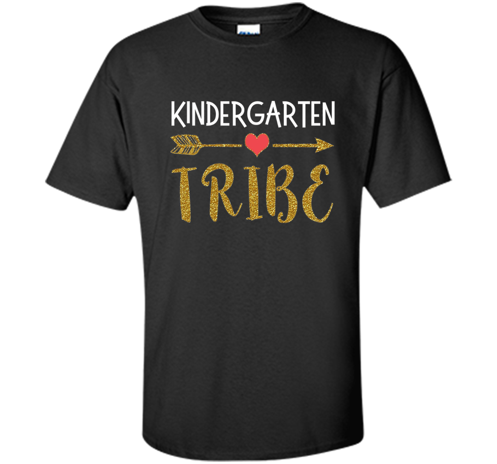 Kindergarten Tribe Teachers Gift T Shirt 1st Day of School cool shirt