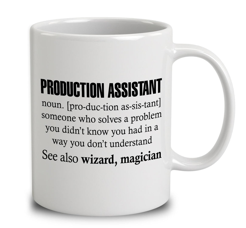 Production Assistant Someone Who Solves A Problem