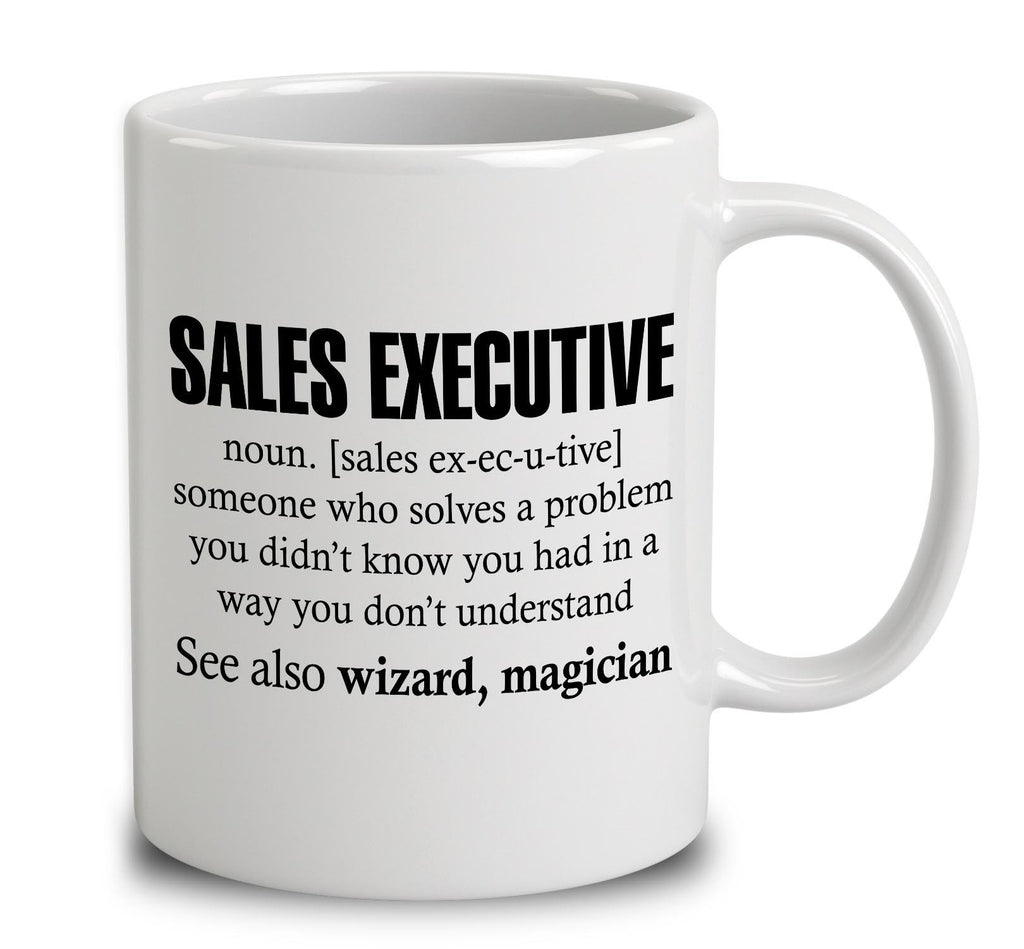 Sales Executive Someone Who Solves A Problem