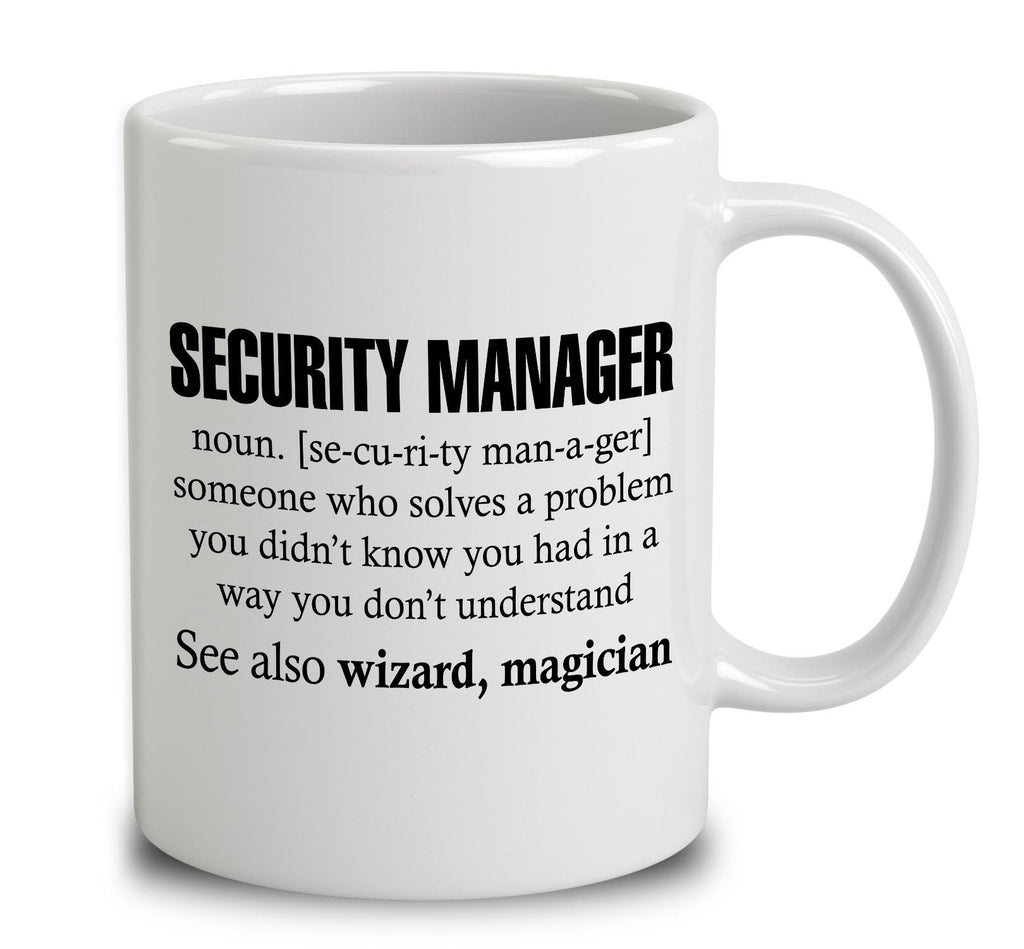 Security Manager Someone Who Solves A Problem