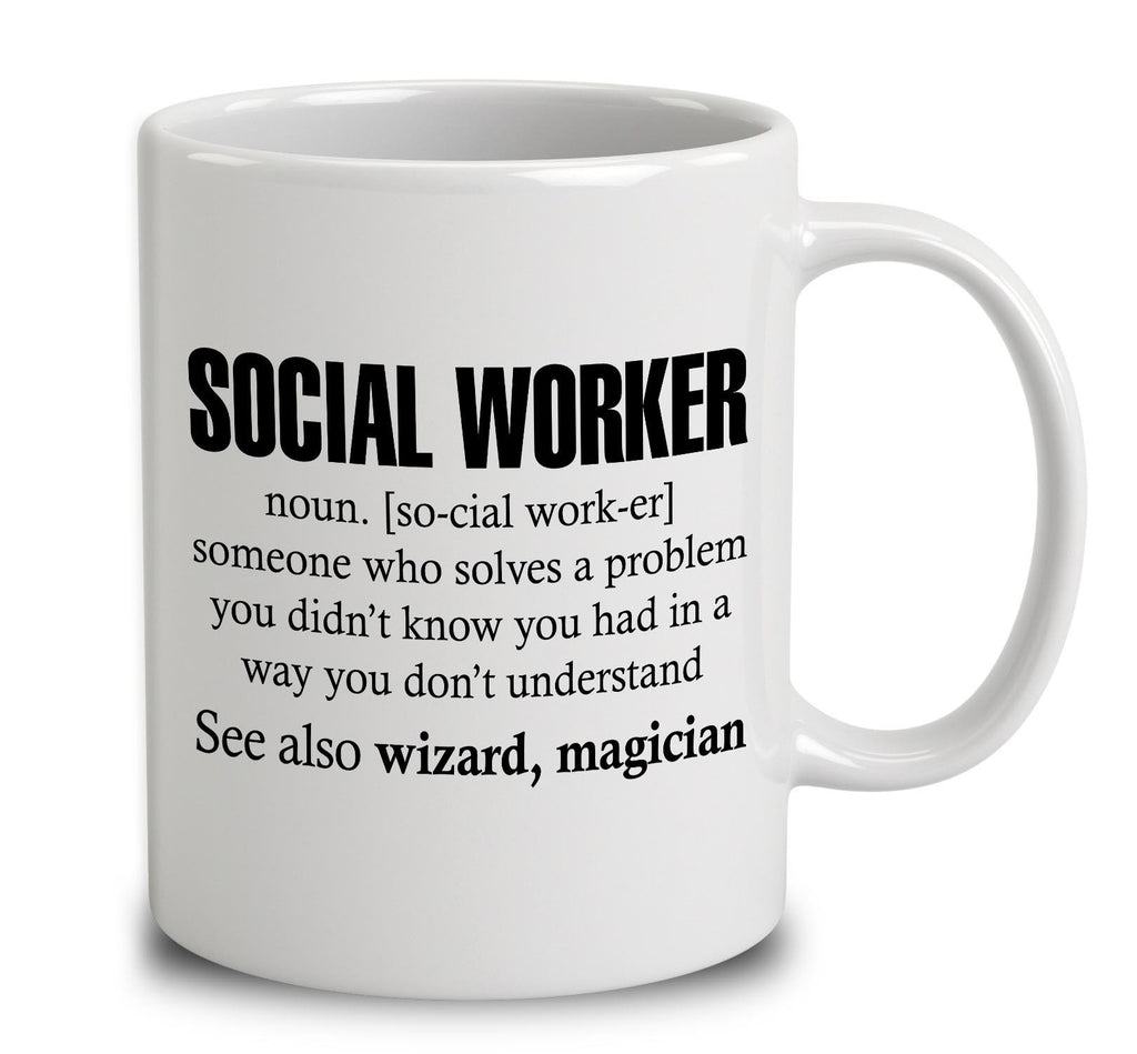 Social Worker Someone Who Solves A Problem
