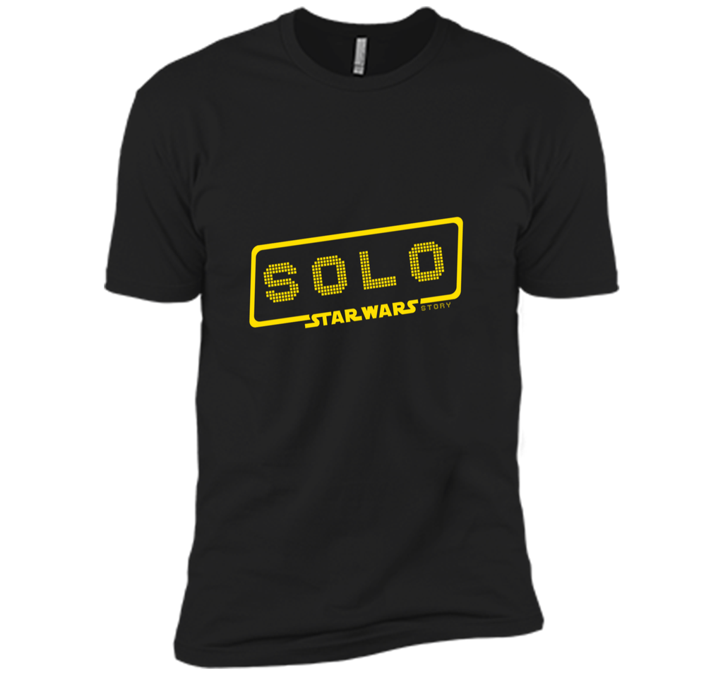solo starwar story - unique design t shirt