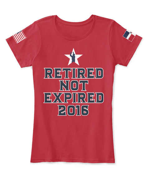 "Limited Time Only David Ortiz ""Retired Not Expired"" T-shirt"