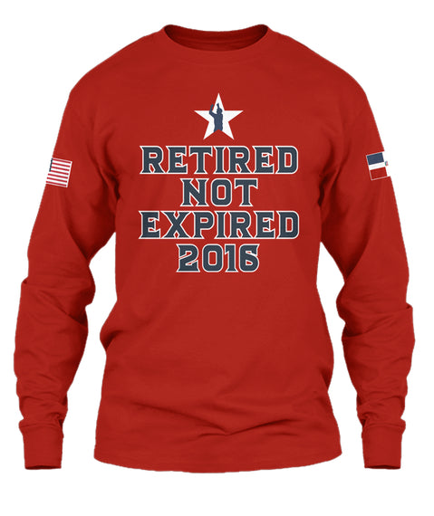 """sale retailer f6690 b95dd Limited Time Only David Ortiz """"Retired Not Expired"""" T-shirt"""